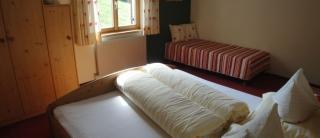 Appartement Nr. 1 Doppelzimmer mit Zustellbett