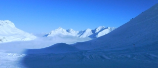 wunderschöner Wintertag am Arlberg